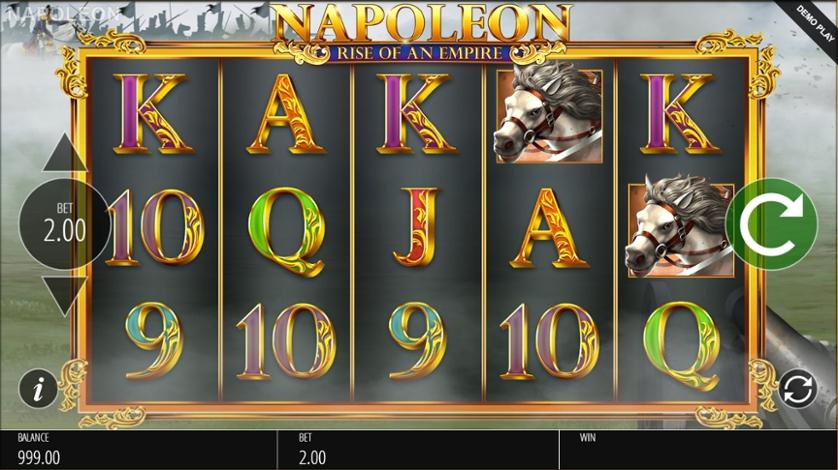 Napoleon Rise of an Empire kolikkopeli