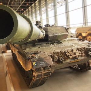 Panssarivaunuilla on suuri rooli sodassa